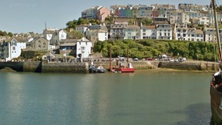 Brixham Harbour where the tragedy happened.