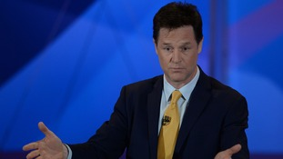 Liberal Democrat leader and Deputy Prime Minister Nick Clegg.