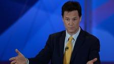 Liberal Democrat leader and Deputy Prime Minister Nick Clegg.