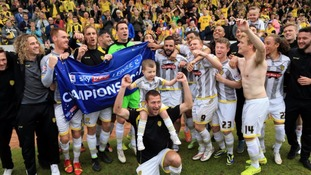 Burton Albion to be crowned champions on home turf