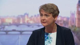Labour's Yvette Cooper spoke to Andrew Marr.