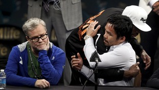 Pacquiao considered postponing Mayweather bout due to shoulder injury
