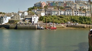 Brixham Harbour where the tragedy happened