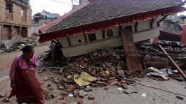 Three people found alive days after Nepal earthquake