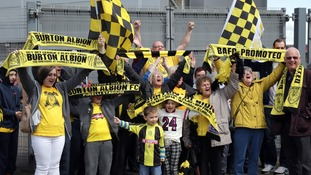 Burton Albion crowned champions of League Two