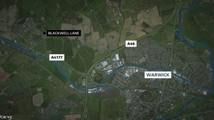 A murder investigation is underway following the death of a man  in Blackwell Lane, Warwick.
