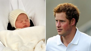 Prince Harry 'can't wait to meet beautiful niece'