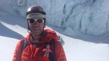 Everest climber Ellis Stewart has returned home to Hartlepool.