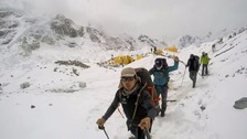 Many Gurkhas had been on Mount Everest when the avalanche hit.