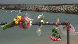Flowers have been left for Emily Gardner.