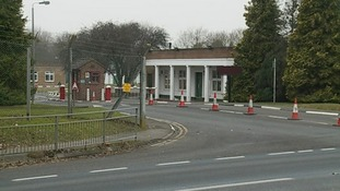 Bassingbourn Barracks in Cambridgeshire.