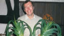 David Paterson, pictured here in the 1980s, was a champion leek grower