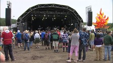 Wickerman Festival main stage