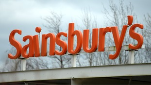 Sainsbury's announces first annual profits fall in a decade