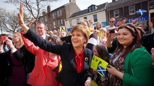 Nicola Sturgeon has ridden a wave of SNP support in the election campaign.