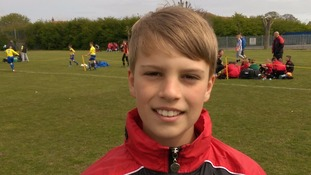 Footballer, 12, attempts 10,000 'keepy ups' for charity