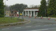 Bassingbourn Barracks, Cambs, where the two soldiers were training.