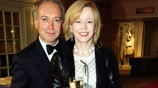 Welsh actress Angharad Rees pictured with actor Nicholas Grace