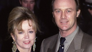 Angharad Rees pictures with her ex-husband and actor Christopher Cazanove