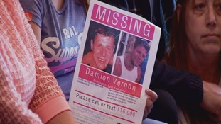 Damion Vernon has been missing since December