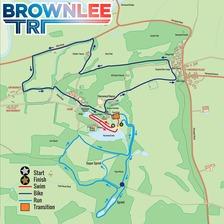 Brownlee Tri route