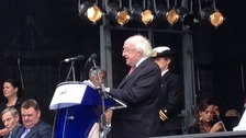 Irish president Michael Higgins