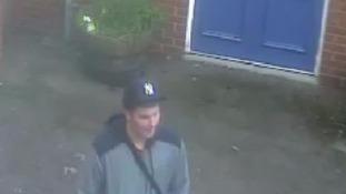 CCTV image of Alexander