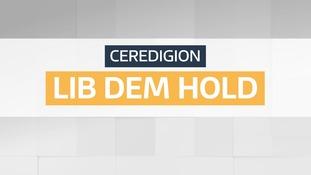 CEREDIGION LIB DEM HOLD