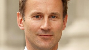 Culture Secretary Jeremy Hunt.