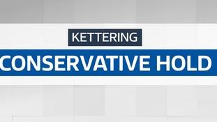 Conservatives hold Kettering
