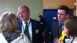 Conservatives claim prize scalp of Lib Dem Climate Secretary, Ed Davey