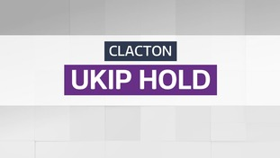Result: UKIP hold - Clacton