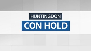Result: Conservative hold - Huntingdon