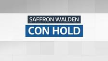 Result: Conservative hold - Saffron Walden