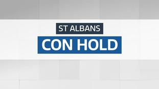 Result: Conservative hold - St Albans