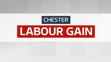 Chester - Labour Gain