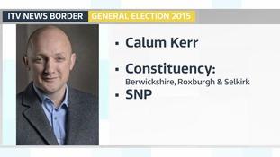 SNP's Calum Kerr takes Roxburgh, Berwickshire and Selkirk