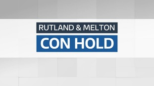 Result: Conservative hold - Rutland & Melton