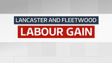 Lancaster and Fleetwood - Labour Gain
