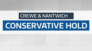 Crewe and Nantwich - Ed Timpson holds seat for Conservatives