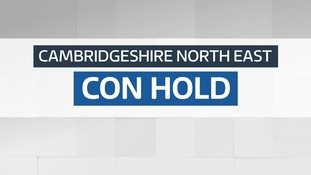 Result: Conservative hold - Cambridgeshire North East