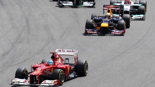 Vettel penalised in German F1 Grand Prix
