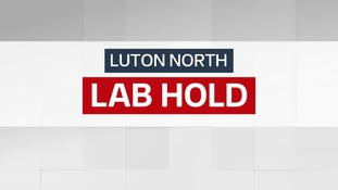 Result: Labour hold - Luton North.