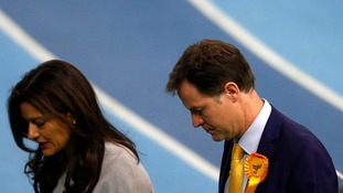 Nick Clegg has announced his resignation as leader of the Liberal Democrats