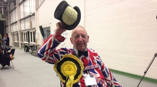 George Ridgeon of the Monster Raving Loony Party