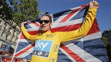 Bradley Wiggins wins Tour