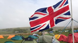 Ten Tors camp