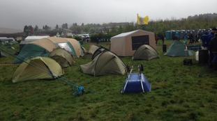 Ten Tors camp