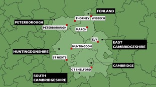 Six councils in Cambridgeshire have had elections