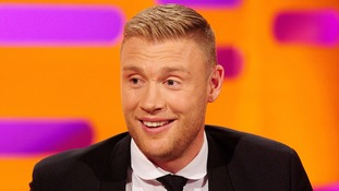 England cricket hero Freddie Flintoff jokes with police after wife forgets to pay for petrol